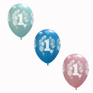 palloncino personalizzato primo compleanno