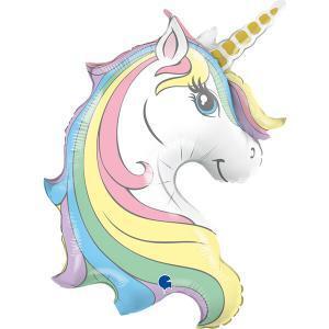 vendita palloncino testa unicorno